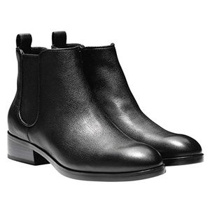 Cole Haan Landsman Leather Black Bootie